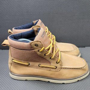 Youth Sz 4.5 Tan Sperry Leeward Boot